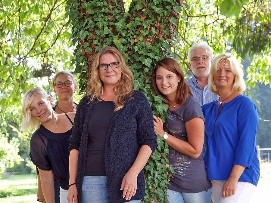 Das starke Team der Tagesgruppe   Bild: Andreas Bubrowski/CJD Oberurff