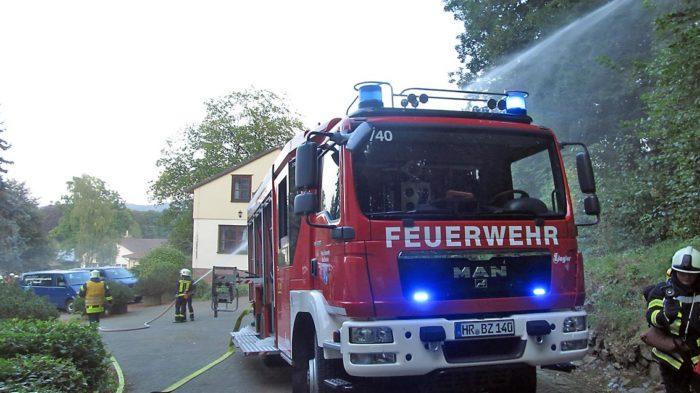 Feueralarm in Oberurff und umliegenden Gemeinden. Foto: privat
