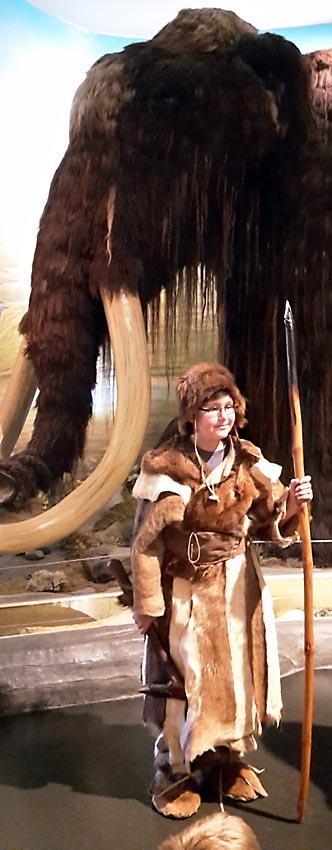 Conrad, als Ötzi. Foto: privat