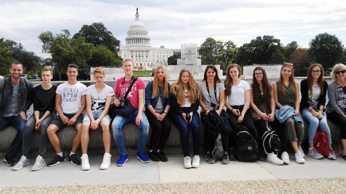Oberurffer vor dem Capitol