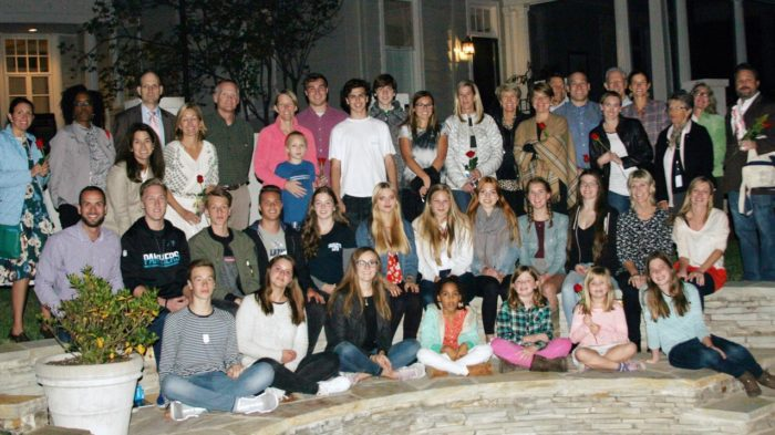 Abschiedsabend mit allen am Austausch Beteiligten. Foto: privat