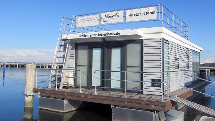Unser Hausboot. Foto: privat