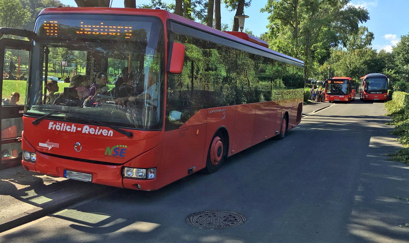 Drei Mal am Tag Schulbus-Rallye | Bild: A. Bubrowski/CJD Oberurff