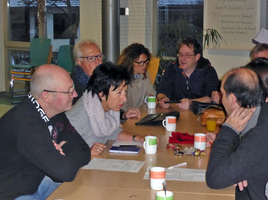 Evaluation als Schulprojekt   Foto: M. v. Kortzfleisch/CJD Oberurff