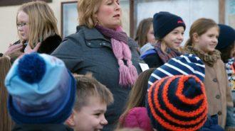 Fünftklässler betreuen junge Besucher | Bild: A. Bubrowski/CJD Oberurff