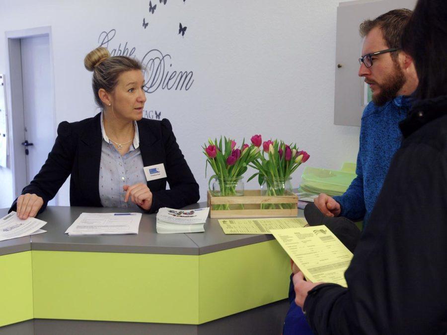Sekretariat: Christina Eitel   Bild: Andreas Bubrowski/CJD Oberurff