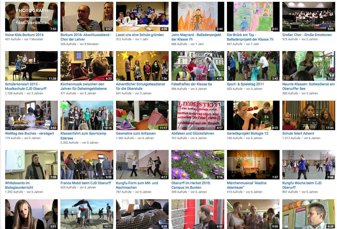 Youtube-Kanal von CJD-UPDATE | Bild: Andreas Bubrowski/CJD Oberurff