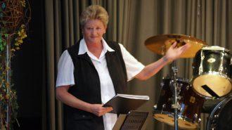 Sabine Schmidt, Chorleiterin | Bild: Andreas Bubrowski/CJD Oberurff
