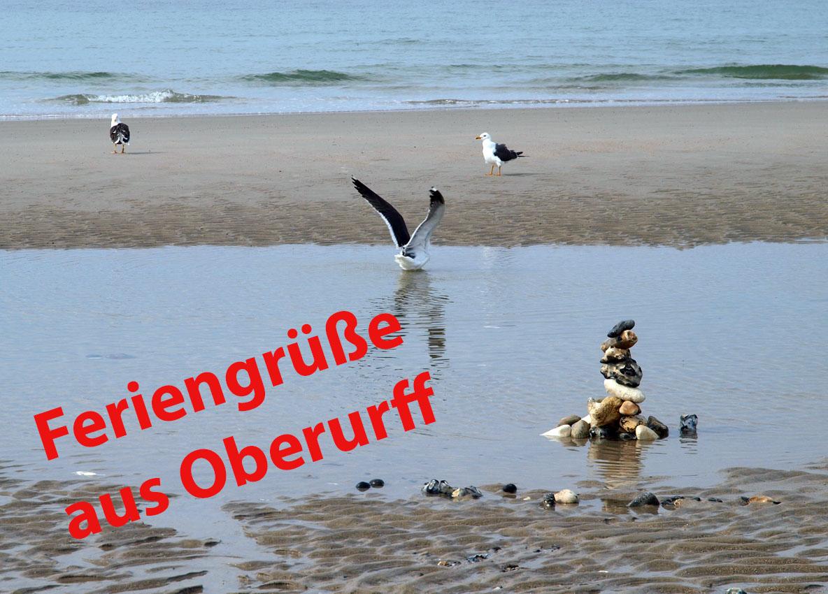 Feriengrüße aus Oberurff, von der Nordsee | Foto: Andreas Bubrowski