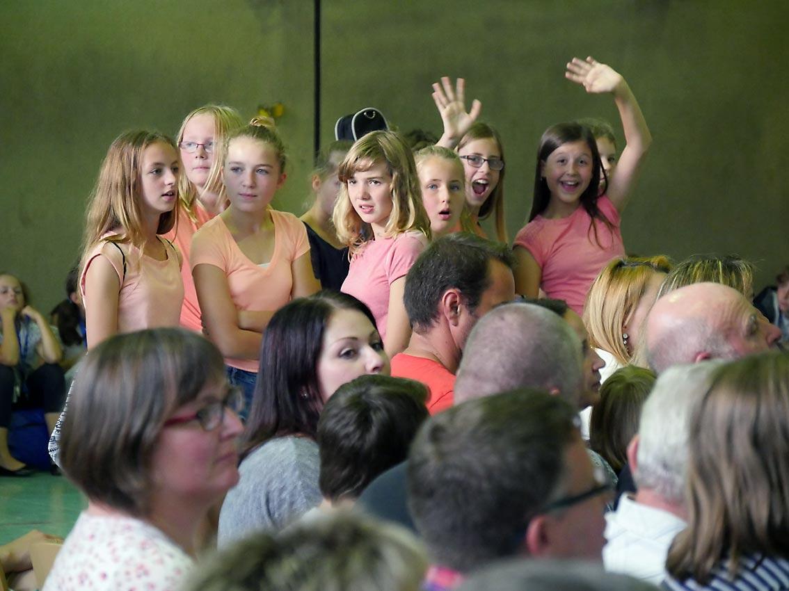 Schülerinnen der Ex-5a | Foto: Andreas Bubrowski/CJD Oberurff