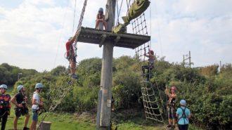 Kletterpark - größer als zuerst gedacht | Foto: privat