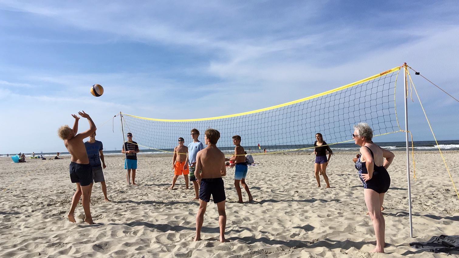 Volleyball am Strand | Foto: Imke Krüger/CJD Oberurff