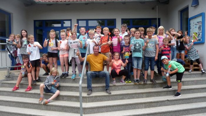 Teilnehmer an den Ferienspielen beim CJD Oberurff | Foto: privat