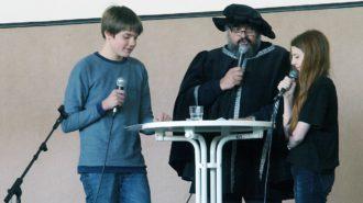 Outing: Unser Lehrer und Kollege IST Luther | Foto: A. Bubrowski/CJD Oberurff