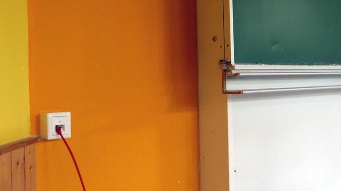 Bildung aus dem Kabel beziehungsweise via WLAN aus dem Netzwerkrouter? | Foto: Andreas Bubrowski/CJD Oberurff