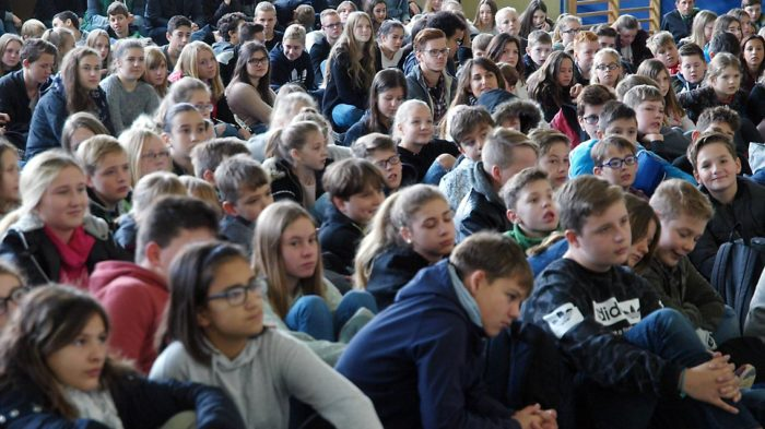 Schüler feiern Gottesdienst zum Reformationstag | Foto: A. Bubrowski/CJD Oberurff