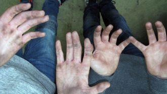 Hände schmutzig machen bei der Arbeit | Foto: U. Ferner/CJD Oberurff