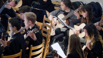 Gitarrenensemble | Foto: A. Bubrowski/CJD Oberurff