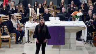 Sopran-Arie mit Miriam Hellwig | Foto: A. Bubrowski/CJD Oberurff
