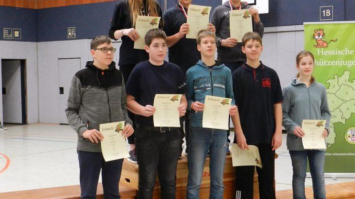 Bogensport: Schüler der A-Klasse