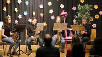 Saxofon Quartett | Foto: A. Bubrowski/CJD Oberurff