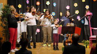 Streicher-Ensemble | Foto: A. Bubrowski/CJD Oberurff