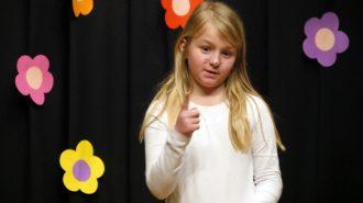 Pauline (5e) | Foto: A. Bubrowski/CJD Oberurff
