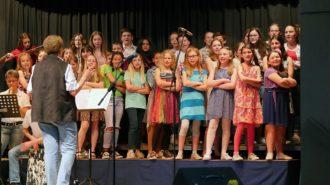 Frühlingskonzert mit dem Kleinen Chor | Foto: A. Bubrowski/CJD Oberurff