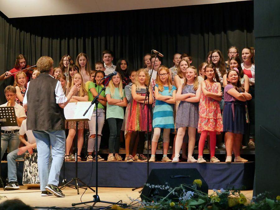 Frühlingskonzert mit dem Kleinen Chor   Foto: A. Bubrowski/CJD Oberurff