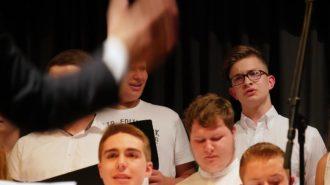 Männer im Großen Chor | Foto: A. Bubrowski/CJD Oberurff