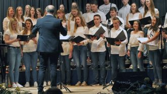 Chor-Team | Foto: A. Bubrowski/CJD Oberurff