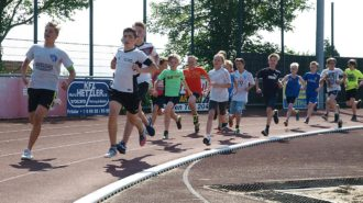 Bundesjugendspiele - 1'000 Meter   Foto: A. Bubrowski/CJD Oberurff
