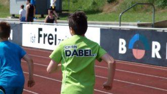 Bundesjugendspiele - DABEI sein ist alles   Foto: A. Bubrowski/CJD Oberurff