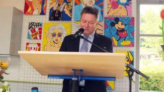 Ansprache des Schulleiters | Foto: M. Moniac/CJD Oberurff