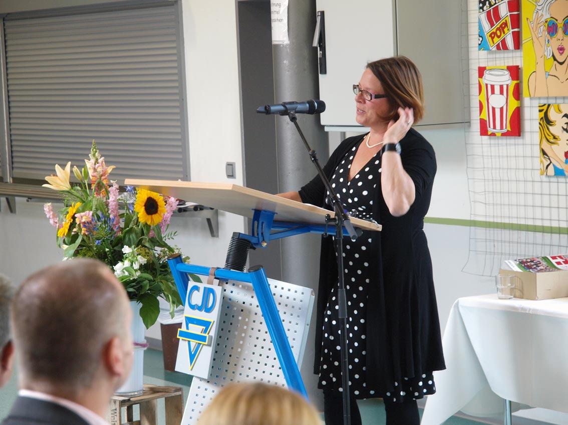 Klassenlehrerin 10d: Birgit Reimer | Foto: A. Bubrowski/CJD Oberurff
