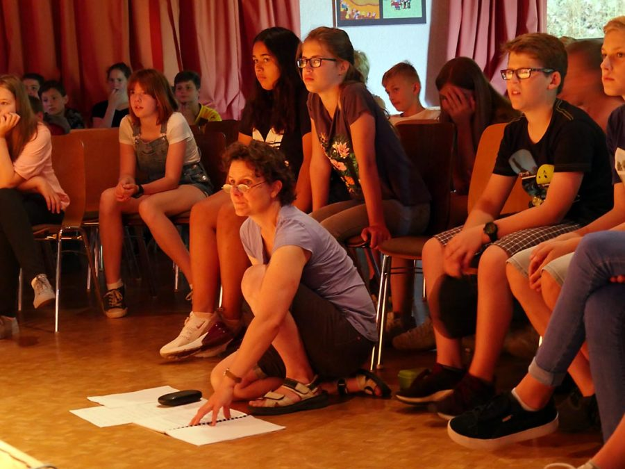 Drehbuch/Inszenierung: Diana Schulze | Foto: A. Bubrowski/CJD Oberurff
