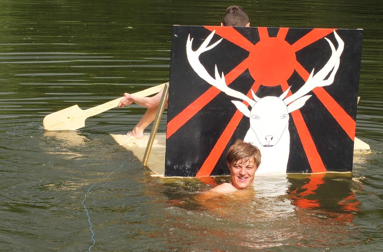 Und sie schwimmen doch | Foto: M. Moniac/CJD Oberurff