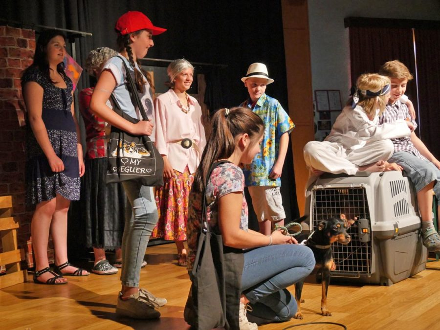 Kleine Theater AG mit Murks | Foto: A. Bubrowski/CJD Oberurff