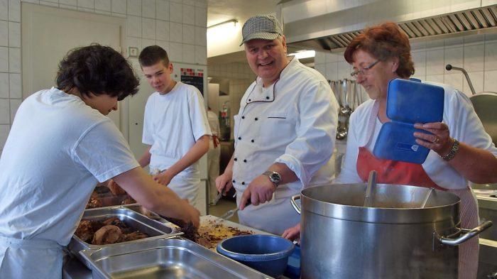 Mittagessen ab sofort im Schloss | Foto: A. Bubrowski/CJD Oberurff
