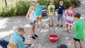 Ferienspiele: Teamwork | Foto: Christine Schäfer/CJD Oberurff