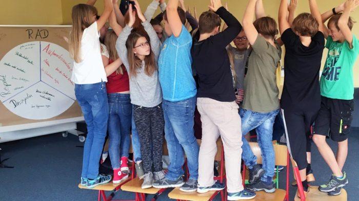 Klassen-RAD der 5a | Foto: A. Bubrowski/CJD Oberurff