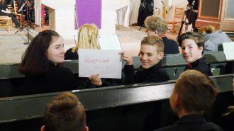 VIP-Plätze für den Chor 5-7 | Foto: A. Bubrowski/CJD Oberurff