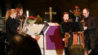 Saxophonensemble | Foto: A. Bubrowski/CJD Oberurff