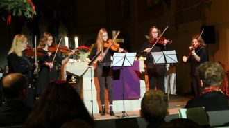 Streicherensemble in Fritzlar | Foto: A. Bubrowski/CJD Oberurff