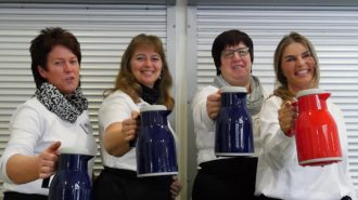 Cafeteria-Team | Foto: A. Bubrowski/CJD Oberurff