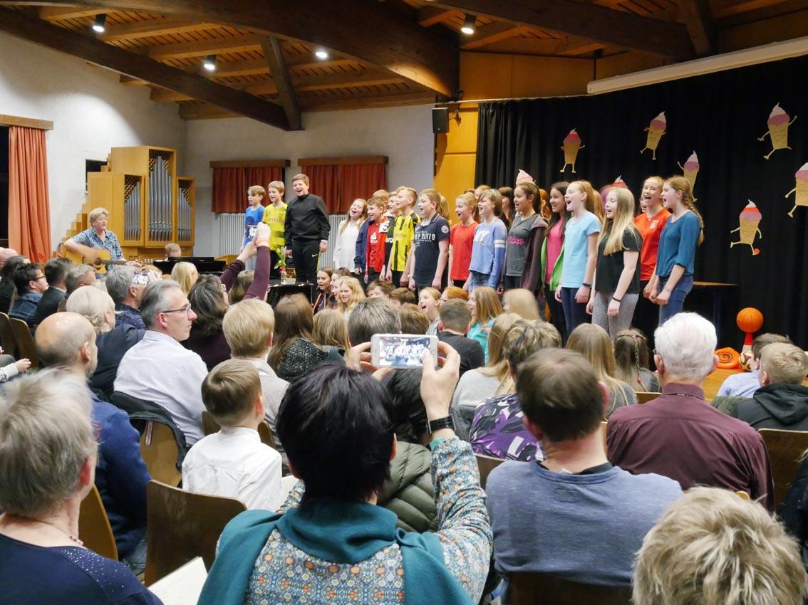 Musischer Abvend 2019: Sing a Song! | Foto: A. Bubrowski/CJD Oberurff