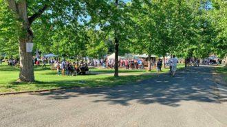 Volksfeststimmung beim CJD Oberurff| Foto: L. Nette-Feldmann/CJD Oberurff