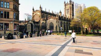 In den Osterferien in Manchester: Die Kathedrale, gebaut: 1421-1506 | Foto: Dennis Ruhwedel/CJD Oberurff