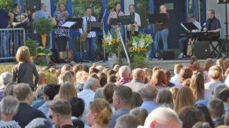 Fernsehgarten-Atmosphäre | Foto: A. Bubrowski/CJD Oberurff