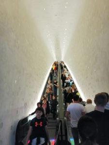 Rolltreppe zur Elbphilharmonie. Foto: D. Ruhwedel/CJD Oberurff